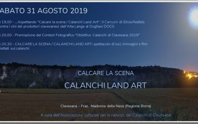 Calcare  la Scena Calanchi Land Art